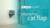 Replacing the front frame on the SureFlap Microchip Cat Door