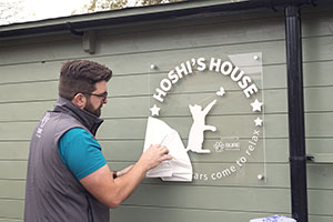 Hoshi's House plaque unveiled at Wood Green