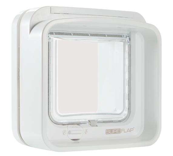 DualScan Cat Flap - White