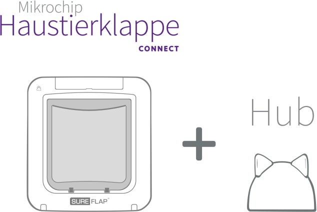 Microchip Pet Door Connect with Hub