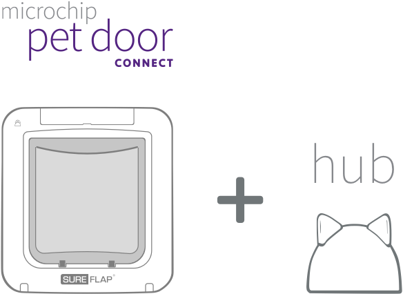 Microchip Pet Door Connect & Internet Hub