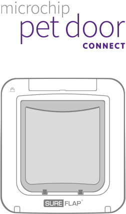 Microchip Pet Door Connect