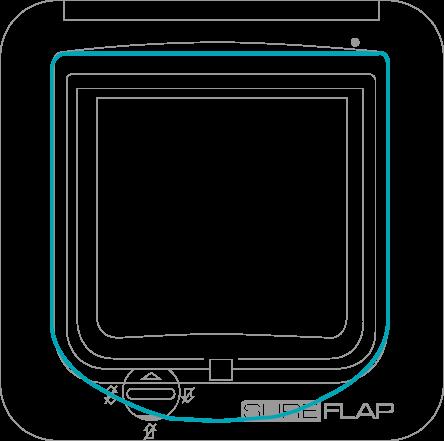 product dimension diagram
